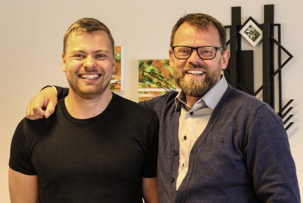 Marcus Oxe og Henrik Oxe fra Voxeværket